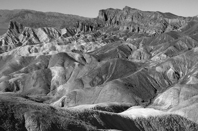 zabriskie point. october 2009.
