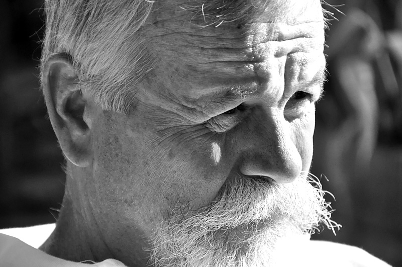 the old man. july 2010.