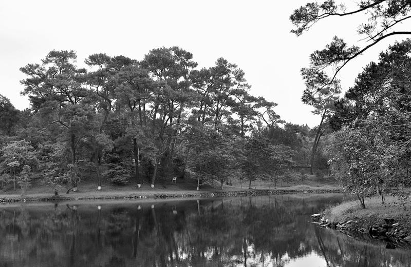 emperor minh mang burial grounds. april 2009.
