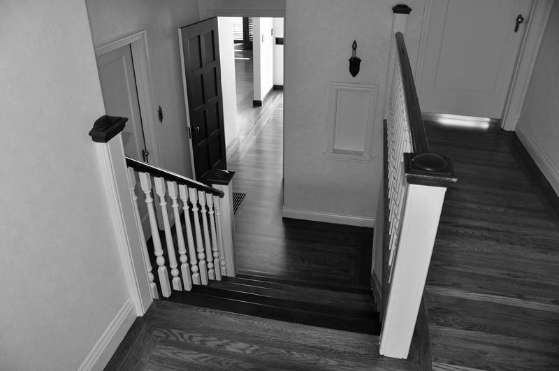 down main staircase. may 2011.