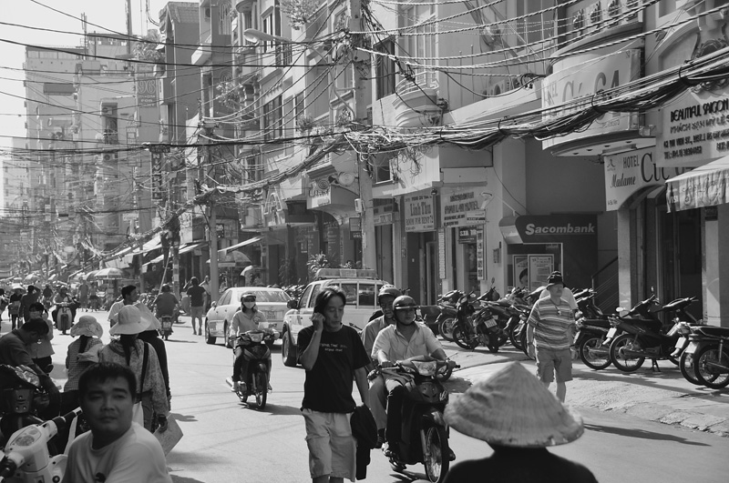 ho chi minh city (1). december 2011.