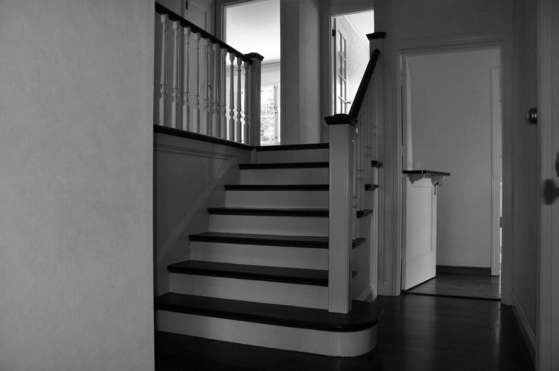 up main staircase. may 2011.